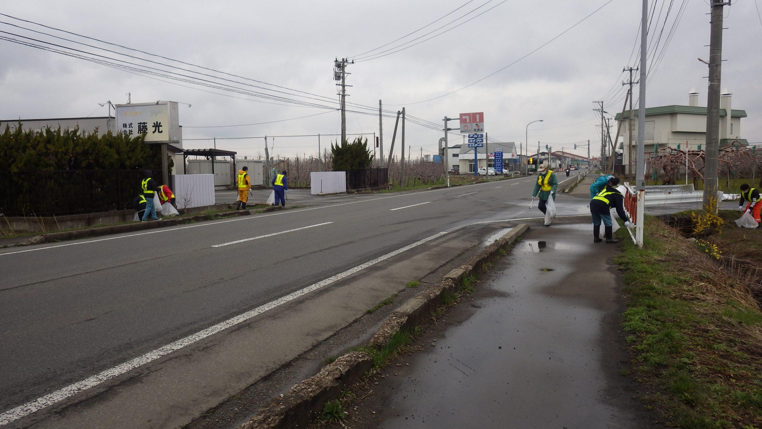 道路清掃活動1