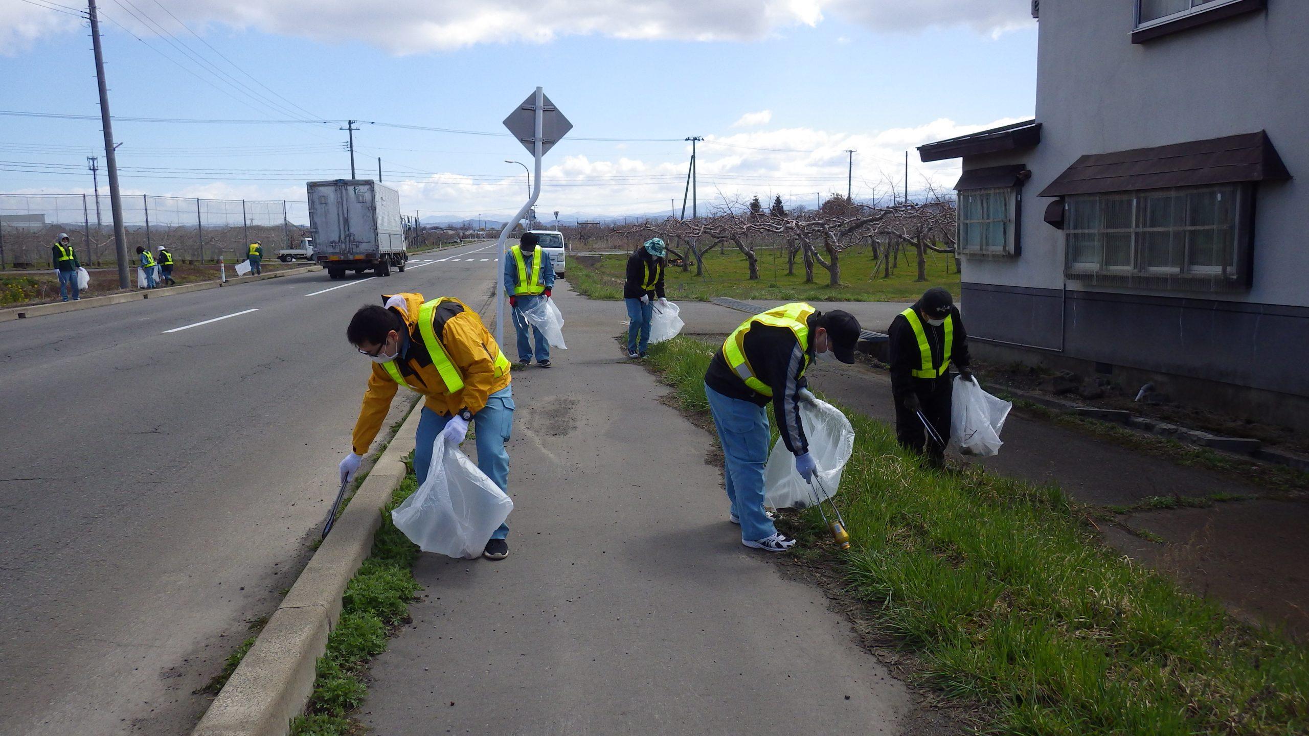 道路清掃活動2